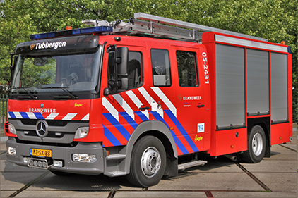 Brandweerauto Tubbergen